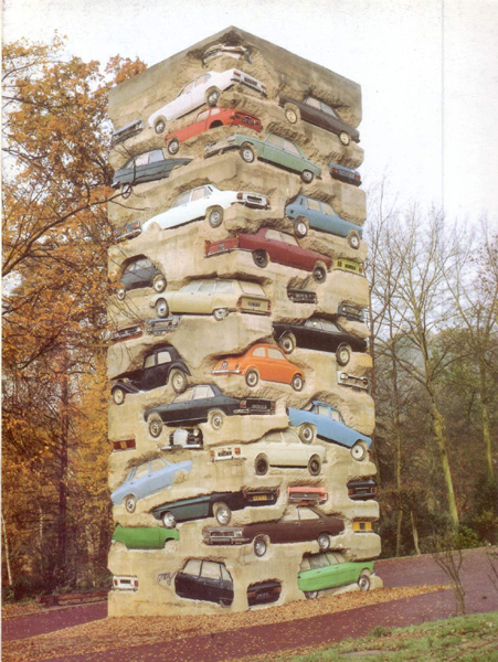arman Long Term Parking jouy en josas 1982